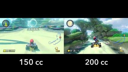 Mario Kart 8 - 200cc vs 150cc - Dolphin Shoals (Wii U) de Mario Kart 8