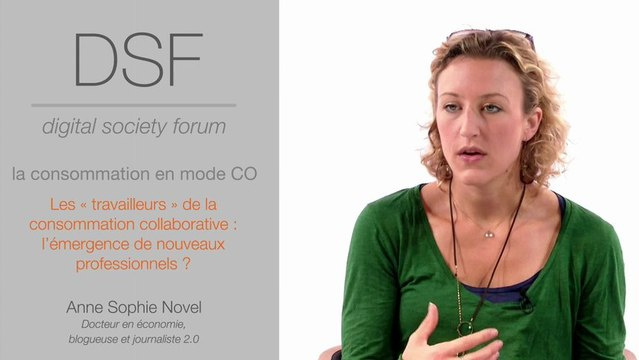 Consommation collaborative : Anne-Sophie Novel
