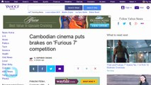 Cambodian Cinema Puts Brakes on 'Furious 7' Competition