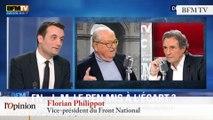 """TextO' : Florian Philippot : """"Jean-Marie Le Pen n'est pas un adhérent comme les autres"""""""