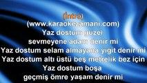 Barış Manço - Sarı Çizmeli Mehmet Ağa - Yaz Dostum 1 - 1993 TÜRKÇE KARAOKE