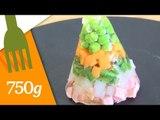 Recette d'Aspic de légumes ou Gelée de légumes - 750 Grammes