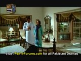 a scene of our hero Faysal Qureshi`s drama `Roag`
