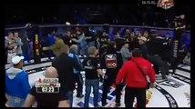 Бой за титул чемпиона мира закончился массовой дракой