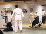 Lundi soir, cours d'aikido au CAPL...