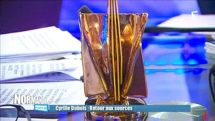 cyrille dubois - Normandie Matin 030415
