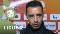 Conférence de presse Stade Lavallois - FC Sochaux-Montbéliard (2-2) : Denis ZANKO (LAVAL) - Olivier ECHOUAFNI (FCSM) - 2014/2015