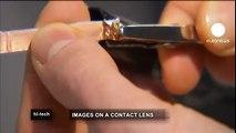 euronews hi-tech - Lentes de contacto futuristas