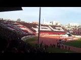 WAC vs husa الوداد البيضاوي.  حسنية اگادير الجمهور يكرم شهداء الصويرة