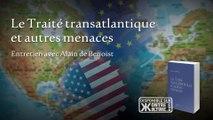 """Alain de Benoist présente son livre """"Le Traité transatlantique et autres menaces"""""""