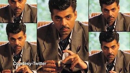 OMG KJo scared of his Bombay Velvet look - Video Dailymotion