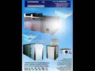 Lavatrici ad ultrasuoni VS6000 per grandi parti meccaniche