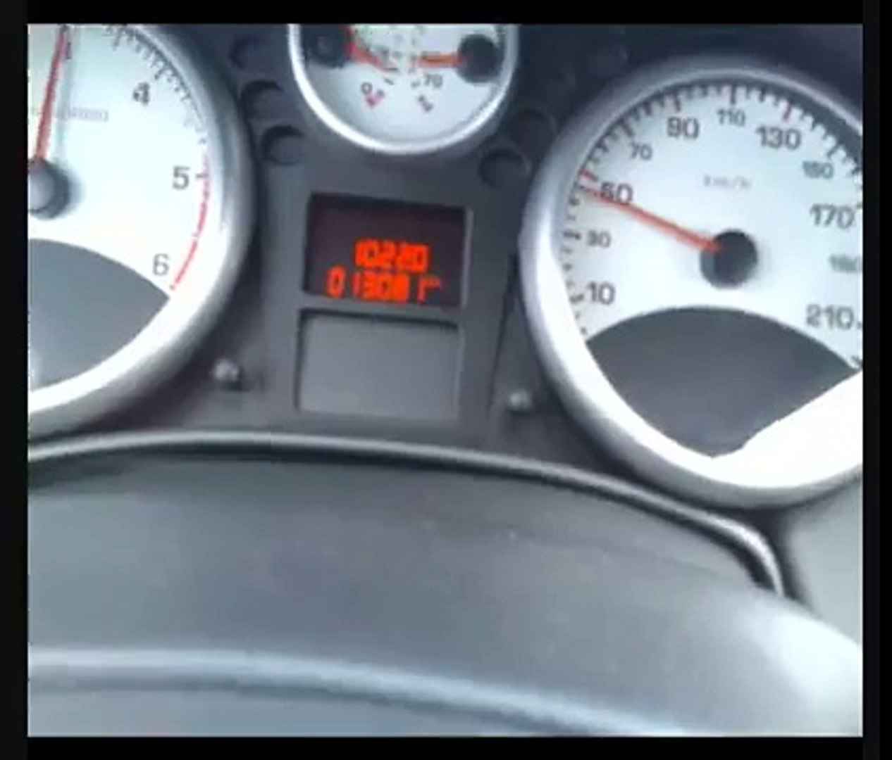 Peugeot 207 Top Speed