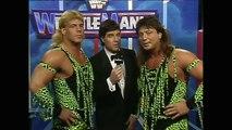 The Rockers vs. The Barbarian & Haku - WWE WrestleMania VII (March 24, 1991)