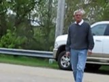 Trespasser threatens property owners in Huron County, Michigan