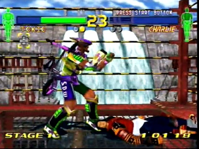 Fighting Vipers 2 Sega Dreamcast Review