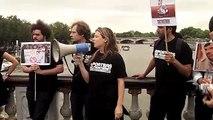 2012 - Poutine à Paris, manifestation de Reporters sans frontières