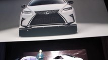 2016 Lexus RX Introduction at the 2015 NYC Auto Show with Lexus President Jeff Bracken.