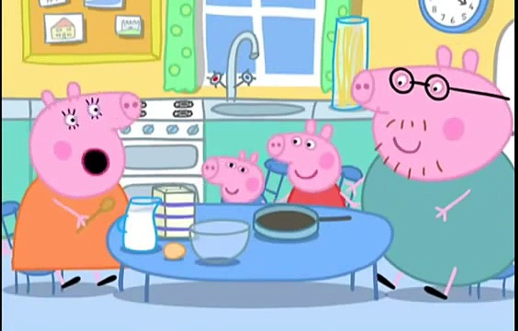 Peppa Pig S1x37 Les Crepes Video Dailymotion