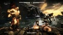 Mortal Kombat X - Goro vs FerraTorr Gameplay