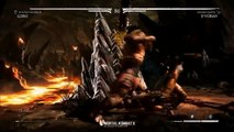 Mortal Kombat X - Goro vs DVorah Gameplay