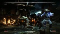 Mortal Kombat X - Goro vs Raiden Gameplay