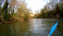 Petit apercu du canoe dans L' Aude avec Eaurizon dans les pyrenées