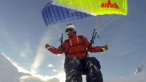 Speed Riding Valfrejus 2015 en blizzard bodacious