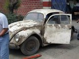 Classic VW BuGs How to remove replace late beetle ignition switch