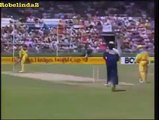 Classic Tony Greig commentary comedy + ENORMOUS DEAN JONES SIX!