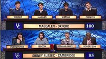 University Challenge S42E06 - Magdalen, Oxford vs Sidney Sussex, Cambridge [2/2]