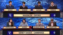 University Challenge S42E06 - Magdalen, Oxford vs Sidney Sussex, Cambridge [1/2]
