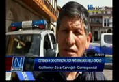 Cusco: Detuvieron a turistas acusados de realizar pintas en muros incas