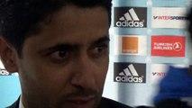 Réaction de Nasser AL KHELAIFI en zone mixte après OM-PSG (2-3)