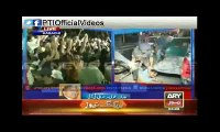 Dr Arif Alvi Blast on MQM for attacking on PTI Camp in Karimabad Karachi (April 3, 2015)