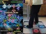 DDR/StepMania - ROSE - SPEED OVER BEETHOVEN - Expert on foam mat