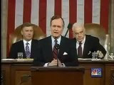 George Bush Sr.  New World Order Live Speech  Sept 11 1991