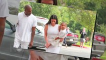 (Video) Kim Kardashian, Kanye West, North West Dressed For Easter   Kimye and North Celebrate Easter