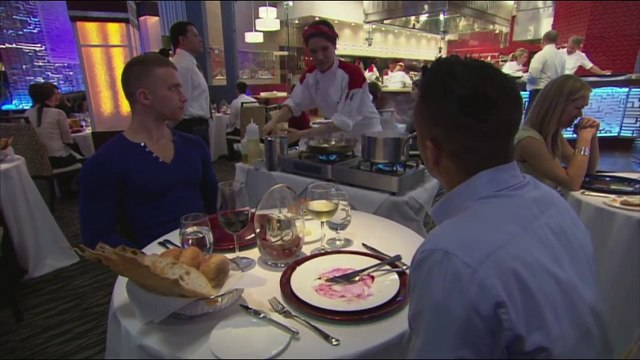 HELL'S KITCHEN   Jai Rodriguez Dines In Hell's Kitchen from  17 Chefs Compete    FOX BROADCASTING