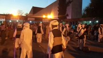 A Balochi Dancer Group performs dance at Shakar parian Lok Virsa festival Islmabad reporting by PCCNN Ch.Ilyas Sikandar
