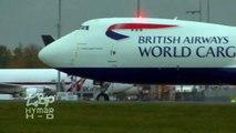 Boeing 747-8 British Airways World Cargo G-GSSD Delivery Flight London Stansted - Launch 747-8F BA