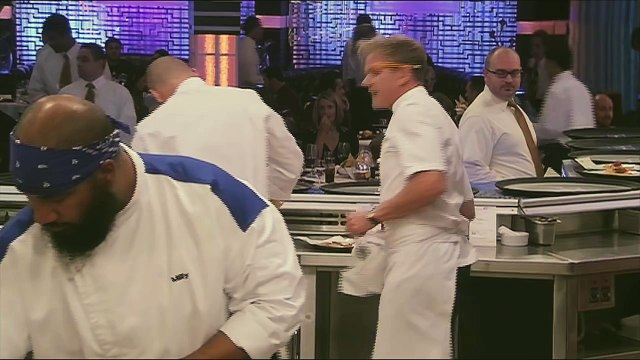 HELL'S KITCHEN   A Risotto Clock from  14 Chefs Compete    FOX BROADCASTING