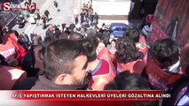 Ankara'da müdahale: 18 gözaltı