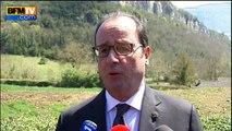 """Hollande: l'otage néerlandais """"en lieu sûr"""", des """"morts et des blessés"""" parmi les jihadistes"""