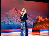 Chechen Girl Sings Armenian Patriotic Song Hay Qajer (Heda Hamzatova) Russian/Armenian Festival