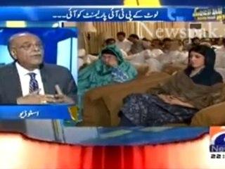 Imran Khan Raasta Dhond Rahay Thay Pehlay Dharna Khatam Karnay ka Aur Ab Parliament Wapis Anay ka: Najam Sethi