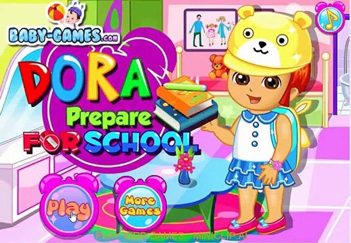 Dora Game - Dora Prepare For School