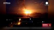 Explosion in Chemiefabrik im Osten Chinas