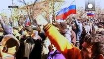 Vor einem Jahr: Eskalation in der Ostukraine