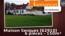 A vendre - Serques (62910) - 6 pièces - 150m²
